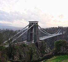 Clifton Suspension Bridge , Bristol , U,K. by Alex Hardie