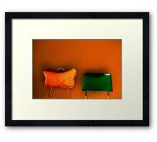 tijuana (two chairs) Framed Print