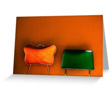 tijuana (two chairs) Greeting Card