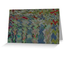 Pond Ripple Greeting Card