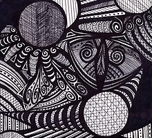 owl by lunashell