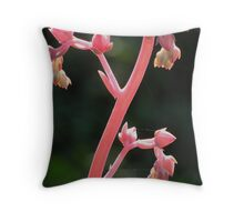 Flower Stalk Throw Pillow