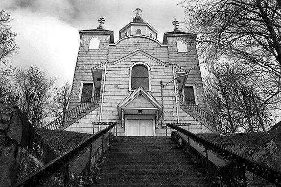 Last Standing Church - Centralia by Mark Van Scyoc