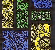 yelloblugreen 1 by lunashell