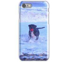 staffy in the sea iPhone Case/Skin