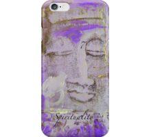 VIOLET BUDDHA #7 iPhone Case/Skin