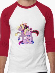My Little Pony Yu-Gi-Oh! Men's Baseball ¾ T-Shirt