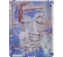 Indigo Blue Buddha #6 iPad Case/Skin