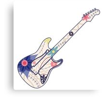 Vintage guitar Canvas Print