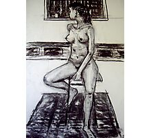 seated woman 2 Photographic Print