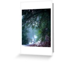 Mystical pathway, Dalkeith Country Park, Scotland Greeting Card
