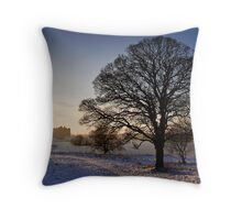 Linlithgow Loch Throw Pillow