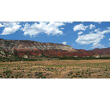 Red Hills in Utah Photographic Print
