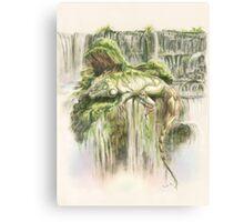 Reptilian Serenity Canvas Print