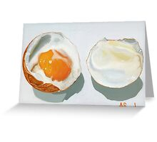 Boiled Egg! by BundyArt Greeting Card