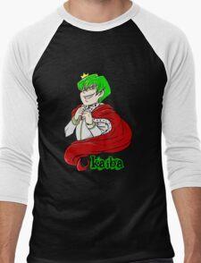 Kaiba green hair Yu-Gi-Oh! Men's Baseball ¾ T-Shirt