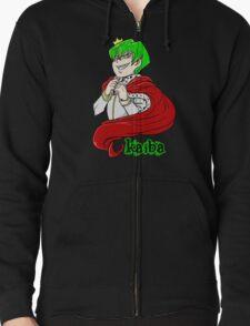 Kaiba green hair Yu-Gi-Oh! Zipped Hoodie