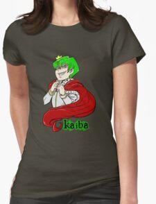 Kaiba green hair Yu-Gi-Oh! Womens Fitted T-Shirt