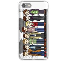 SuperWhoLock Lineup iPhone Case/Skin