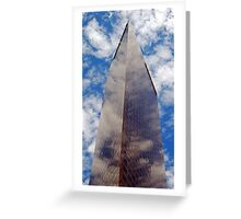Los Angeles Skyscraper 2 Greeting Card