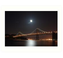 San Francisco Bay Bridge Art Print