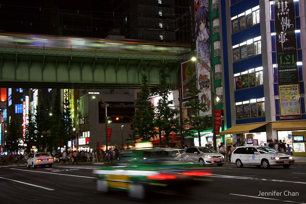 Evening in Akihabara by Jennifer Chan
