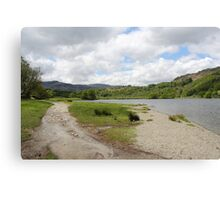 View over Rydal Water - Lake District UK Canvas Print