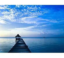 Belize Sunrise Photographic Print