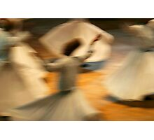 Sema - The Whirling Dervishs of Konya Photographic Print