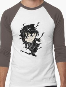 Yugi Muto Black Aibo Wicked avatar Yu-Gi-Oh! R Men's Baseball ¾ T-Shirt