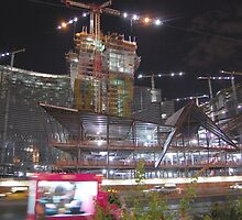 CityCenter Las Vegas during construction by Rob  Holcomb