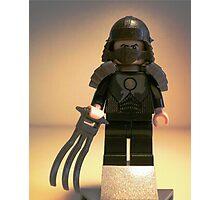 TMNT Teenage Mutant Ninja Turtles Master Shredder Custom Minifig Photographic Print