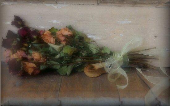 Doorstep Roses by Kristine McKay Kinder