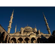Sultan Ahmet Mosque in Istanbul Photographic Print