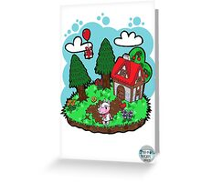 My favourite villager! Greeting Card