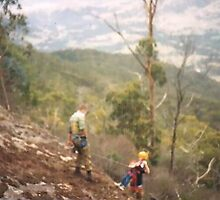 Abseiling - Tallarook Ranges by adgray