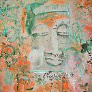 ORANGE Chakra Buddha #2 by Marti   Schmidt
