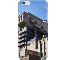 Hollywood Tower of Terror - Disneyland Paris iPhone Case/Skin