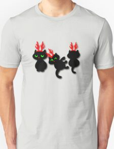Christmas kittens Tee T-Shirt