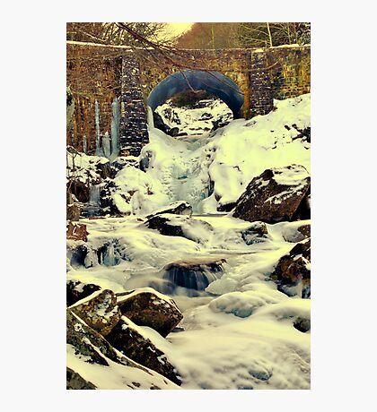 Bridge over the West Fork of the Pigeon Photographic Print