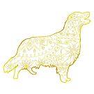 Golden retriever by Marishkayu