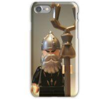 Mongolian Warrior Chief Custom Minifigure iPhone Case/Skin
