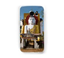 four sitting Buddhas 30 metres high looking in four points of the compass at Kyaikpun Pagoda Samsung Galaxy Case/Skin
