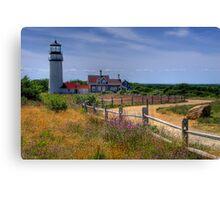 Highland Lighthouse - Massachusetts Canvas Print
