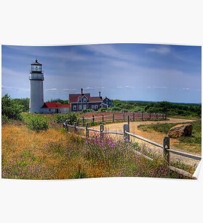 Highland Lighthouse - Massachusetts Poster