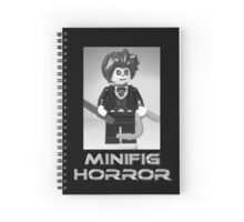 Minifig Horror - Evil Magician Custom Minifig Spiral Notebook