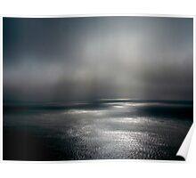 Atlantic Ocean Fog Poster