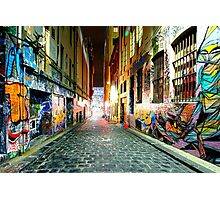 Street Gallery Photographic Print