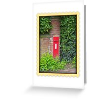 Rural Postbox Greeting Card