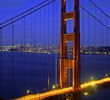 The Golden Gate Bridge  by Mike Norton